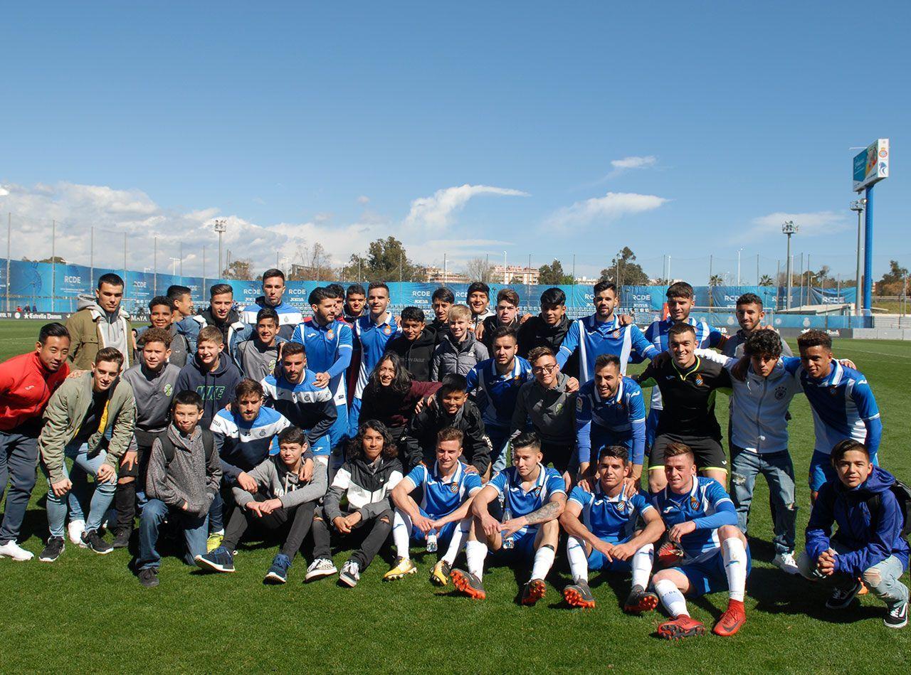 Impact SC guys at Ciutat Esportiva Dani Jarque