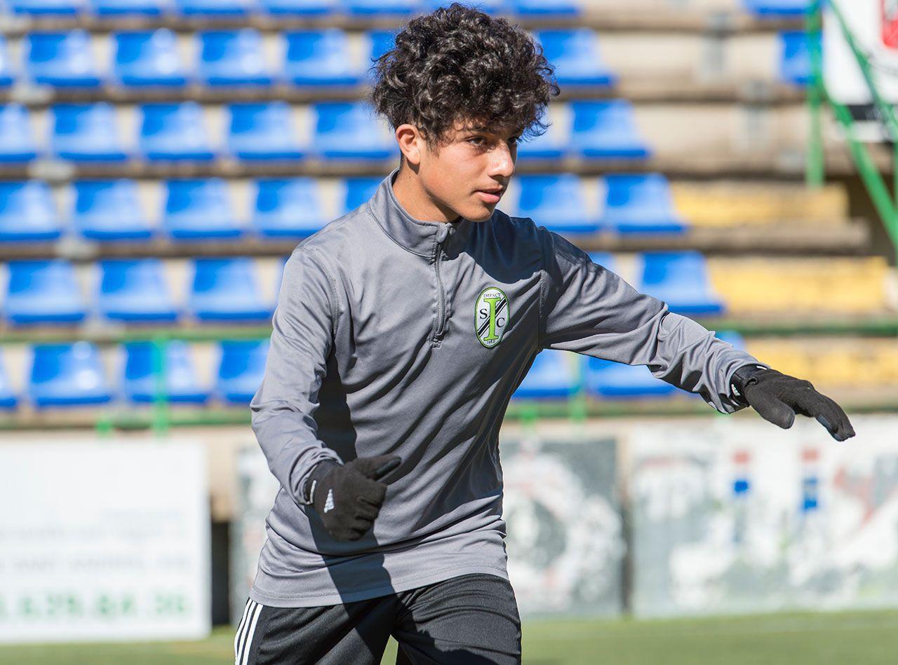Marcos Gandara Impact SC B1 soccer experience