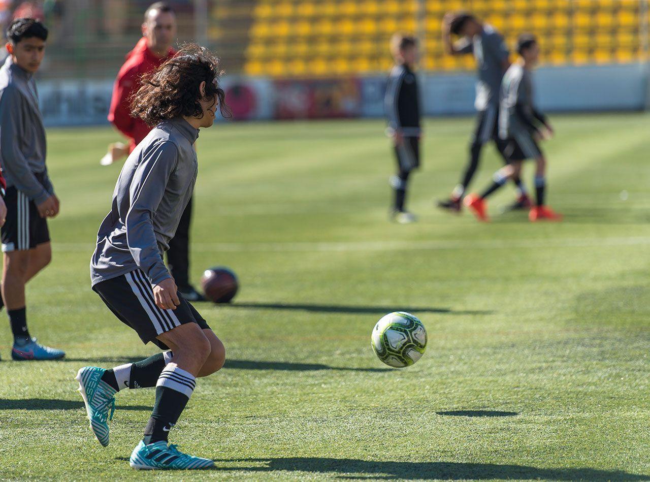 Israel Ortiz Impact SC B1 soccer experience
