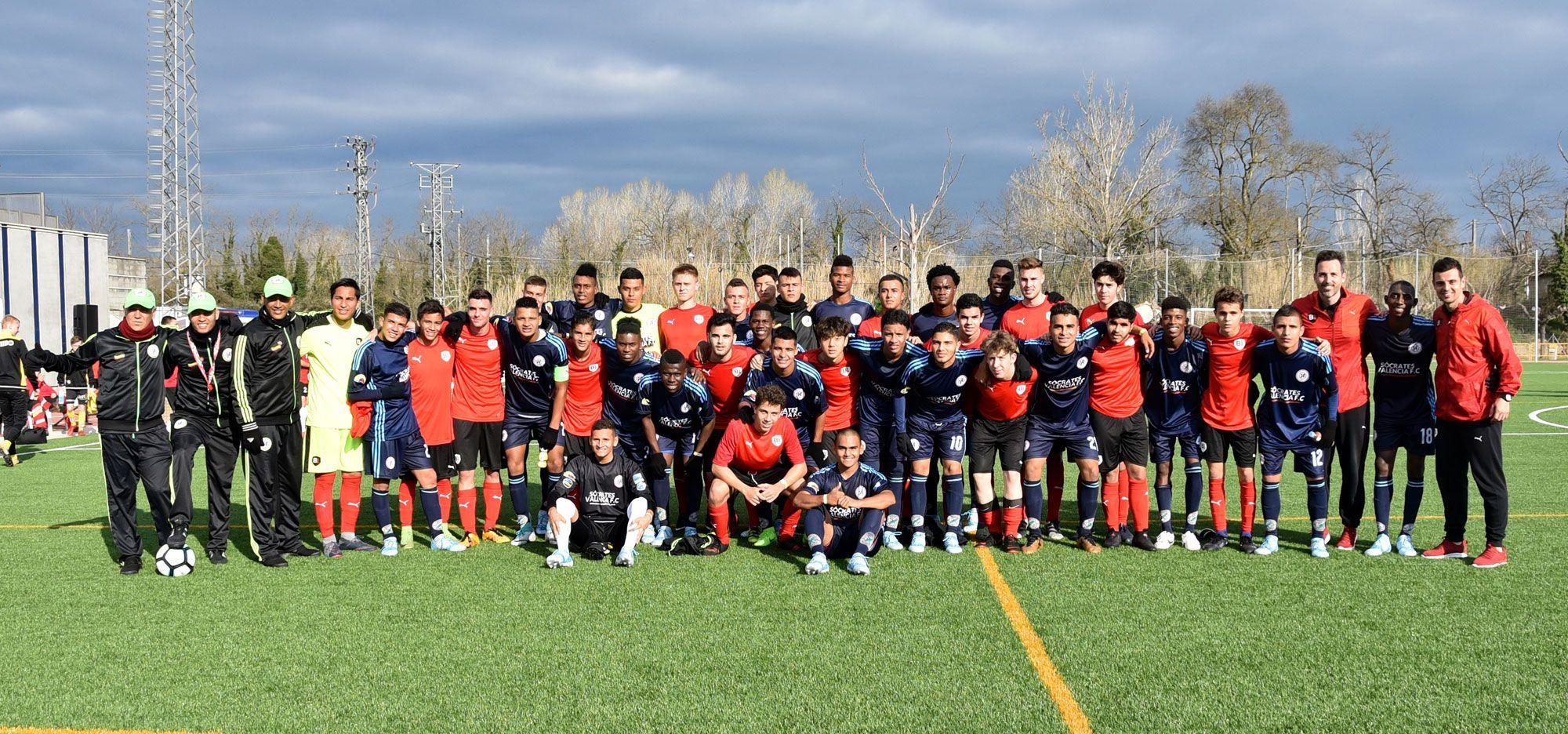 B1 team vs Sócrates Valencia CF
