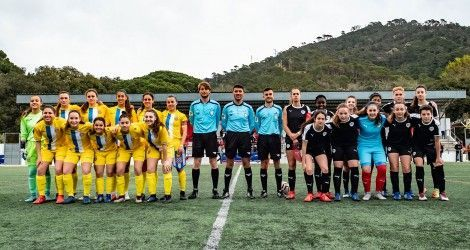 B1 Female team against Espanyol at MIC!